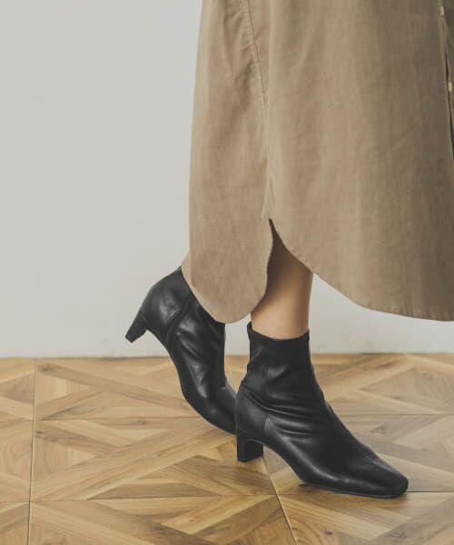 URBAN RESEARCH / アーバンリサーチ ブーツ(ショート丈) | ストレッチショートブーツ | 詳細3