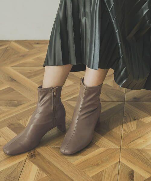 URBAN RESEARCH / アーバンリサーチ ブーツ(ショート丈) | ストレッチショートブーツ | 詳細4