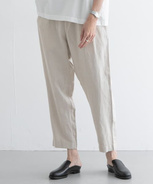 URBAN RESEARCH / アーバンリサーチ その他パンツ | Vincent et Mireille LINEN EASY PANTS(NATURAL)