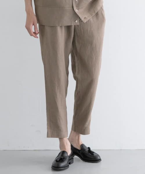 URBAN RESEARCH / アーバンリサーチ その他パンツ | Vincent et Mireille LINEN EASY PANTS(OLIVE)