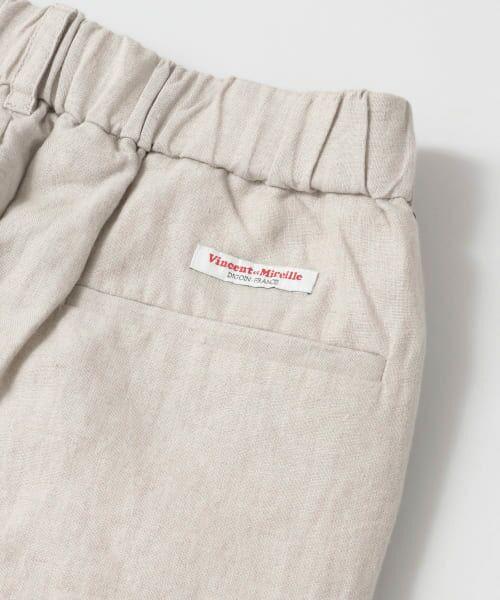 URBAN RESEARCH / アーバンリサーチ その他パンツ | Vincent et Mireille LINEN EASY PANTS | 詳細13