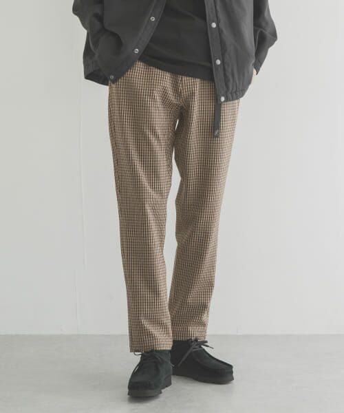 URBAN RESEARCH / アーバンリサーチ その他パンツ | 【別注】GRAMICCI×URBAN RESEARCH WASHABLE WOOLLY PANTS(CHECK)