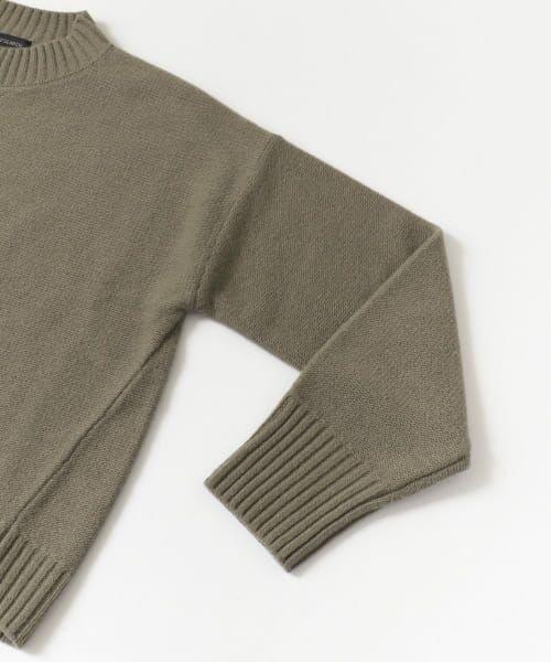 URBAN RESEARCH / アーバンリサーチ ニット・セーター | ラムウールショート丈ニット | 詳細22