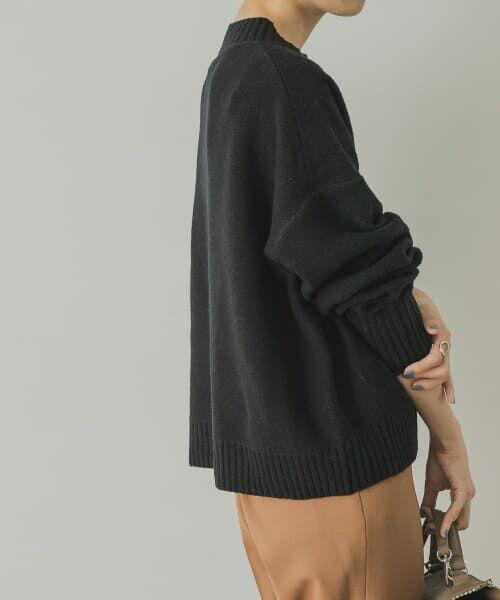 URBAN RESEARCH / アーバンリサーチ ニット・セーター | ラムウールショート丈ニット | 詳細8
