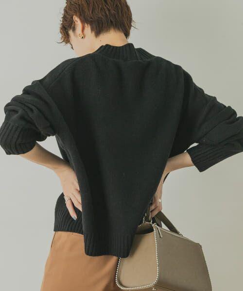 URBAN RESEARCH / アーバンリサーチ ニット・セーター | ラムウールショート丈ニット | 詳細9