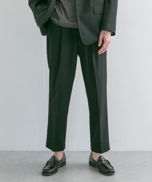 URBAN RESEARCH / アーバンリサーチ その他パンツ   WOOL STRETCH COMFORT PANTS(BLACK)