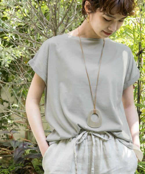 URBAN RESEARCH / アーバンリサーチ Tシャツ   ペルビアンコットンTシャツ(MINT)