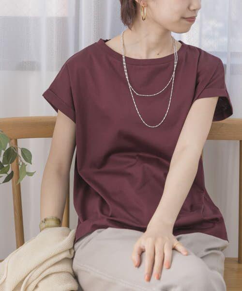 URBAN RESEARCH / アーバンリサーチ Tシャツ   ペルビアンコットンTシャツ   詳細1