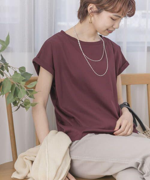 URBAN RESEARCH / アーバンリサーチ Tシャツ   ペルビアンコットンTシャツ   詳細2