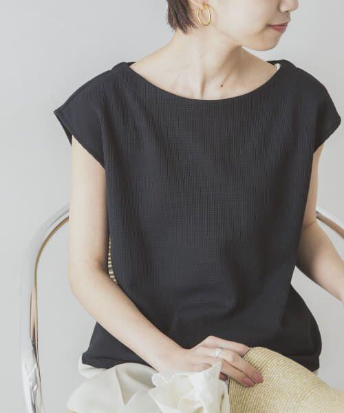 URBAN RESEARCH / アーバンリサーチ Tシャツ   【UVカット・速乾】機能素材サーマルボートネックカットソー   詳細13