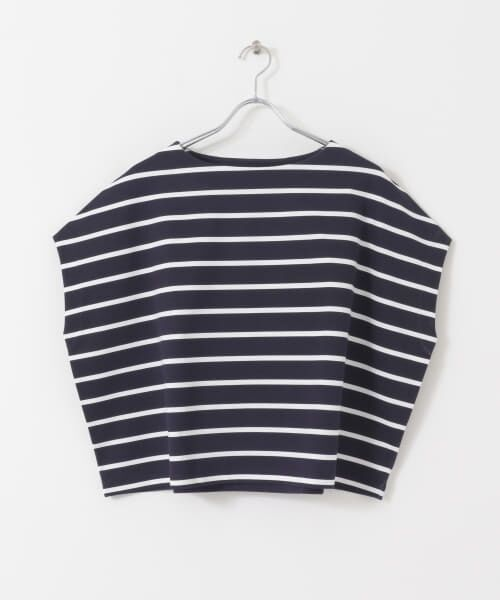 URBAN RESEARCH / アーバンリサーチ Tシャツ | 【WEB限定】ワイドボーダーカットソープルオーバー | 詳細23
