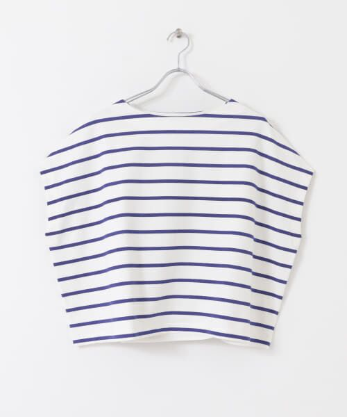 URBAN RESEARCH / アーバンリサーチ Tシャツ | 【WEB限定】ワイドボーダーカットソープルオーバー | 詳細25