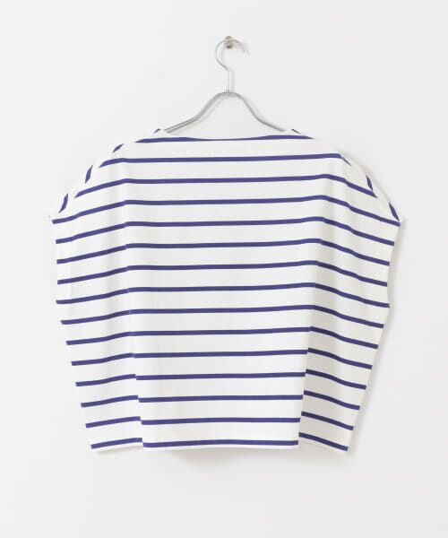 URBAN RESEARCH / アーバンリサーチ Tシャツ | 【WEB限定】ワイドボーダーカットソープルオーバー | 詳細27