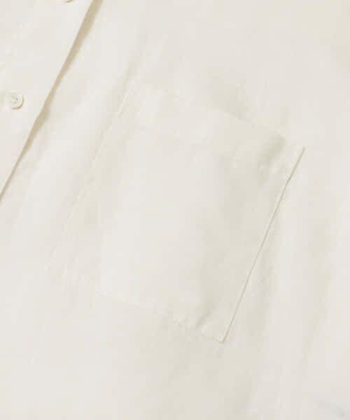 URBAN RESEARCH / アーバンリサーチ シャツ・ブラウス   TECH(UVカット・接触冷感・吸水速乾)+抗菌 機能付 高機能リネンオーバーシャツ   詳細1