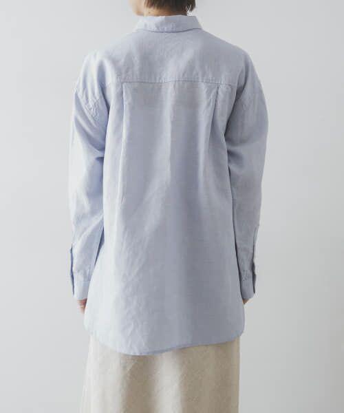 URBAN RESEARCH / アーバンリサーチ シャツ・ブラウス   TECH(UVカット・接触冷感・吸水速乾)+抗菌 機能付 高機能リネンオーバーシャツ   詳細26