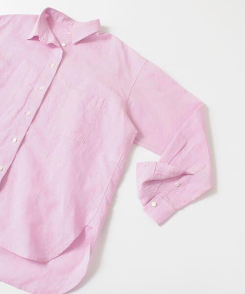 URBAN RESEARCH / アーバンリサーチ シャツ・ブラウス   TECH(UVカット・接触冷感・吸水速乾)+抗菌 機能付 高機能リネンオーバーシャツ   詳細30