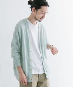 ■URBAN RESEARCH 2021SS<br><br>夏でも快適に着られるカーディガンとして企画したのは、7ゲージのざっくりと編み上げたラミーと、東レが開発した高機能素材ソロテックス(R)を混紡した、ハイブリッドニットを使用した一着。天然繊維ならではの清涼感のある着心地&ルックスと、合繊ならではのストレッチ性、イージーケア性を掛け合わせた、良いとこ取りの掛け算アイテム。<br>URの人気定番アイテム「ミラノリブカーディガン」のシルエットをそのまま落とし込み、ワイドフィット&着丈が短めのスクエアフォルムは、アイテムデザインとしても申し分なしの安心感。<br><br>※絞らずに、陰干ししてください。<br>※タンブル乾燥禁止。<br>※他のものに色移りすることがあります。<br>※その他お取り扱いに関しましては、商品に付属のアテンションタグをご覧ください。<br><br>-----------------------------<br>透け感:ややあり<br>伸縮性:あり<br>裏地:なし<br>光沢:なし<br>ポケット:あり<br>-----------------------------