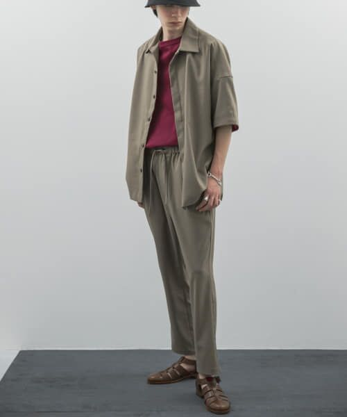 URBAN RESEARCH / アーバンリサーチ その他パンツ | URBAN RESEARCH iD LINEN LIKE TAPERED PANTS | 詳細1