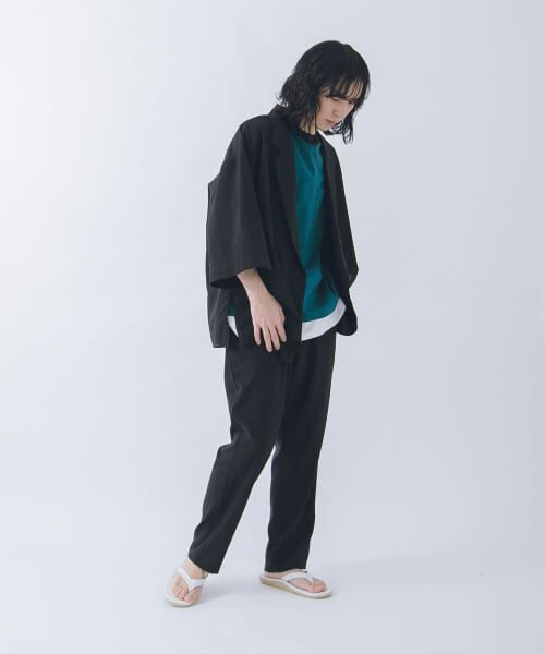 URBAN RESEARCH / アーバンリサーチ その他パンツ | URBAN RESEARCH iD LINEN LIKE TAPERED PANTS | 詳細3