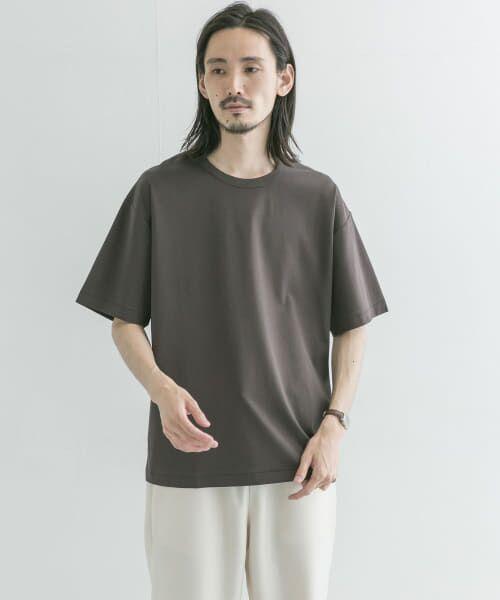 URBAN RESEARCH / アーバンリサーチ Tシャツ   シルケットポンチTシャツ(SMOKE CCL)