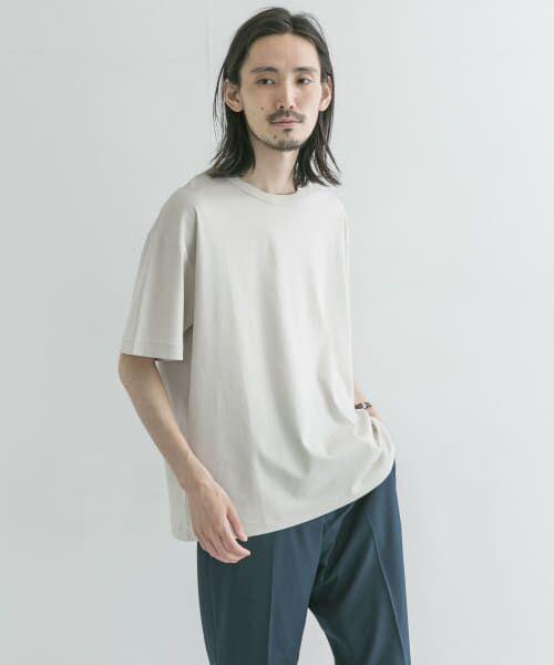 URBAN RESEARCH / アーバンリサーチ Tシャツ   シルケットポンチTシャツ(ICE GRAY)