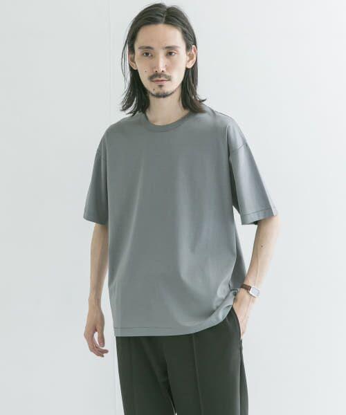 URBAN RESEARCH / アーバンリサーチ Tシャツ   シルケットポンチTシャツ(SLATE GRN)