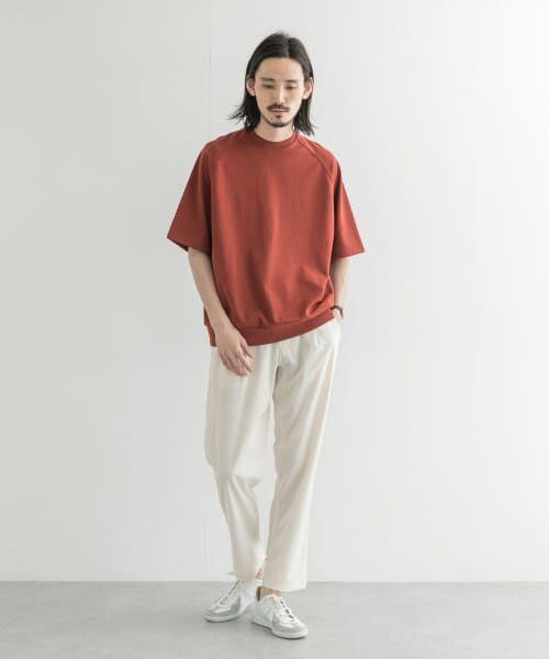 URBAN RESEARCH / アーバンリサーチ Tシャツ | T/CプレーティングリラックスTシャツ | 詳細1