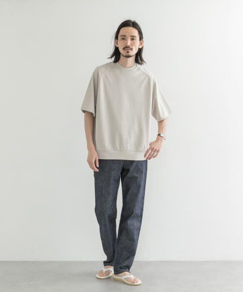 URBAN RESEARCH / アーバンリサーチ Tシャツ | T/CプレーティングリラックスTシャツ | 詳細2