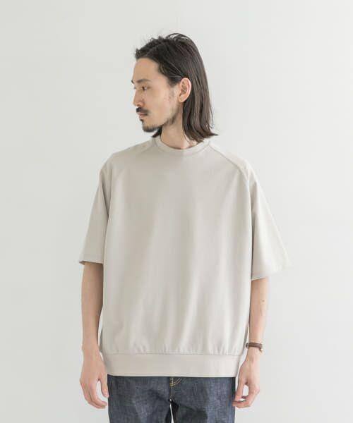 URBAN RESEARCH / アーバンリサーチ Tシャツ | T/CプレーティングリラックスTシャツ | 詳細6