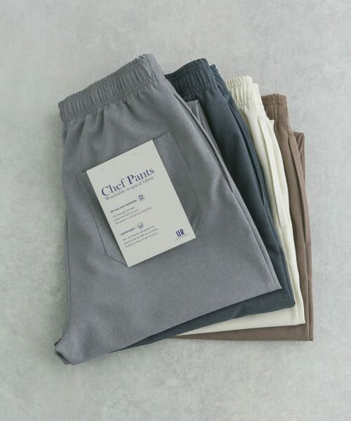 URBAN RESEARCH / アーバンリサーチ その他パンツ | WASHABLE TROPICAL CHEF  PANTS(GREY)