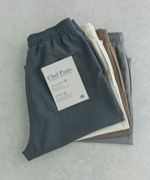URBAN RESEARCH / アーバンリサーチ その他パンツ | WASHABLE TROPICAL CHEF  PANTS(NAVY)