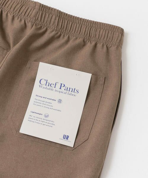 URBAN RESEARCH / アーバンリサーチ その他パンツ | WASHABLE TROPICAL CHEF  PANTS | 詳細21