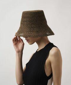 """<strong style=""""font-weight:bold;"""">La Maison de Lyllis (ラ メゾン ド リリス) </strong><br>「内面の美しい誇り高き女性」という花言葉を持つアマリリスから連想されるような女性のための帽子ブランド。<br><br>※サイズ調節可能<br><br>※商品画像は、光の当たり具合やパソコンなどの閲覧環境により、実際の色味と異なって見える場合がございます。予めご了承ください。<br>※商品の色味の目安は、商品単体の画像をご参照ください。"""