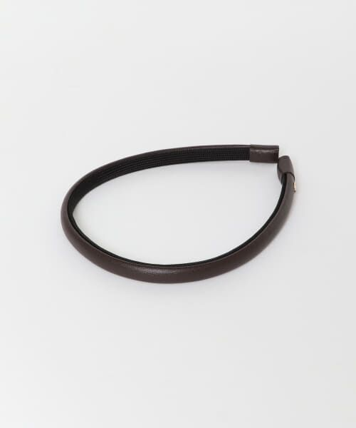 URBAN RESEARCH / アーバンリサーチ カチューシャ・カチューム・その他 | IRIS47 nocturne head band(BROWN)