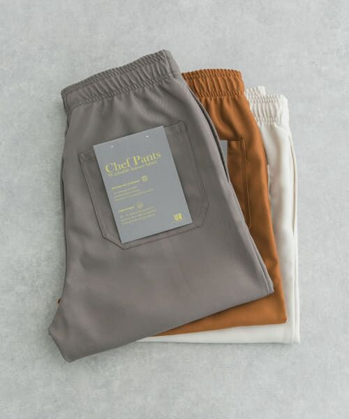 URBAN RESEARCH / アーバンリサーチ その他パンツ | WASHABLE KARSEY CHEF PANTS(TAUPE)