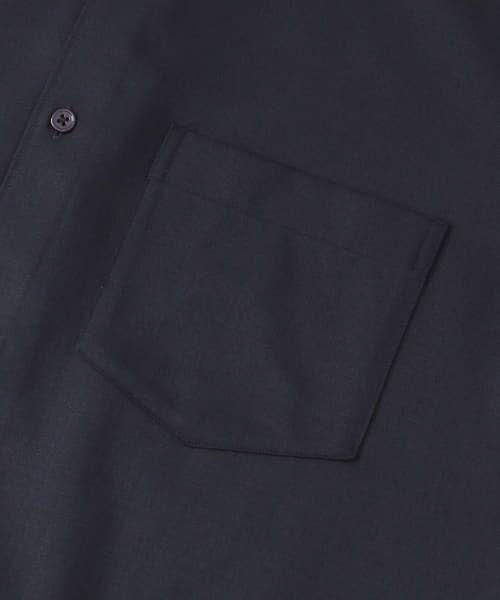 URBAN RESEARCH / アーバンリサーチ シャツ・ブラウス | WASHABLEウールショートスリーブバンドカラーシャツ | 詳細16