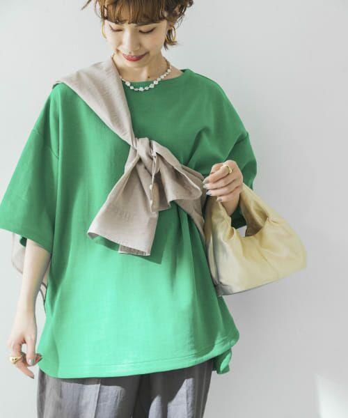 URBAN RESEARCH / アーバンリサーチ Tシャツ   オーバーTシャツ(GREEN)