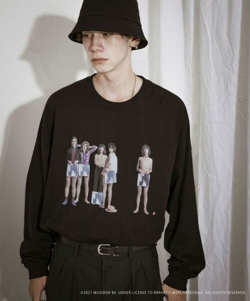 URBAN RESEARCH / アーバンリサーチ Tシャツ   URBAN RESEARCH iD ROLLING STONES LONG-SLEEVE(SUMIKURO)