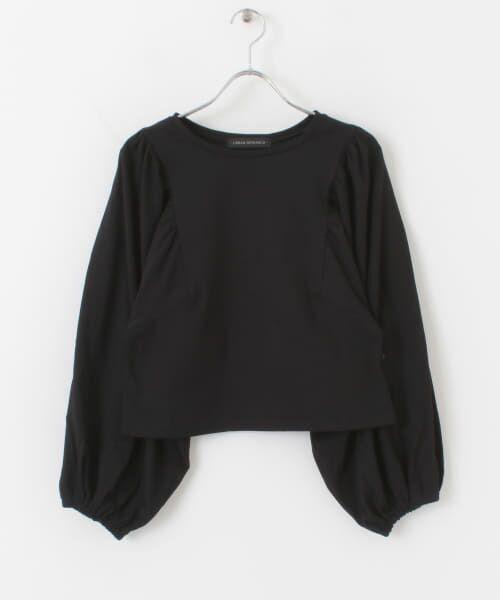 URBAN RESEARCH / アーバンリサーチ Tシャツ | ボリュームスリーブショート丈カットソー | 詳細20