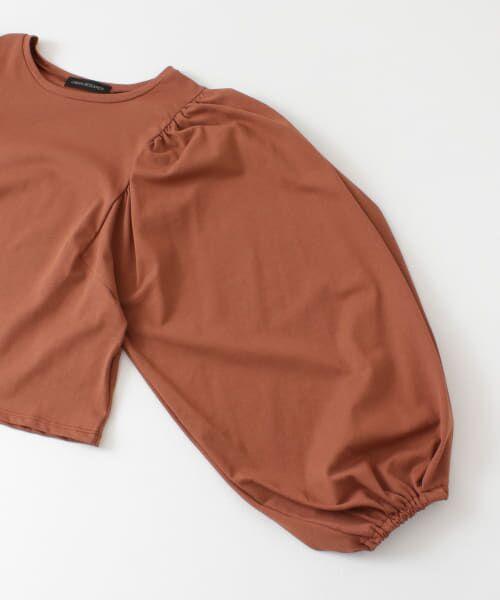 URBAN RESEARCH / アーバンリサーチ Tシャツ | ボリュームスリーブショート丈カットソー | 詳細22