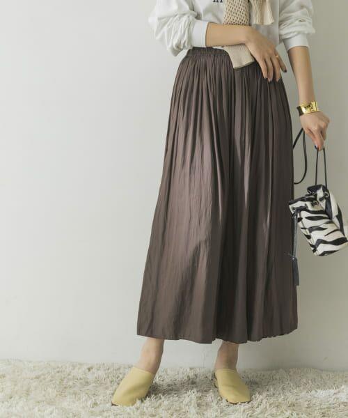URBAN RESEARCH / アーバンリサーチ スカート   フラワープリントリバーシブルスカート   詳細12