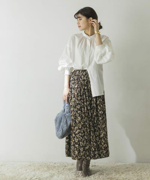 URBAN RESEARCH / アーバンリサーチ スカート   フラワープリントリバーシブルスカート   詳細4