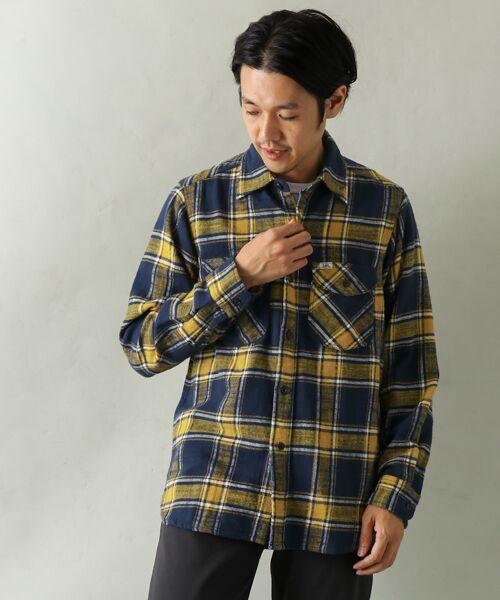 Lee×DOORS-natural- Work Shirts