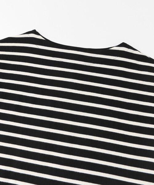 URBAN RESEARCH DOORS / アーバンリサーチ ドアーズ Tシャツ | 起毛ボーダーボートネックプルオーバー | 詳細11