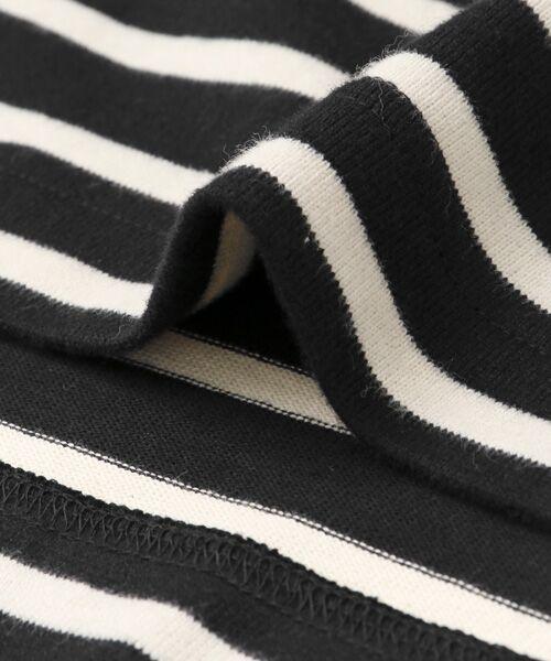 URBAN RESEARCH DOORS / アーバンリサーチ ドアーズ Tシャツ | 起毛ボーダーボートネックプルオーバー | 詳細14