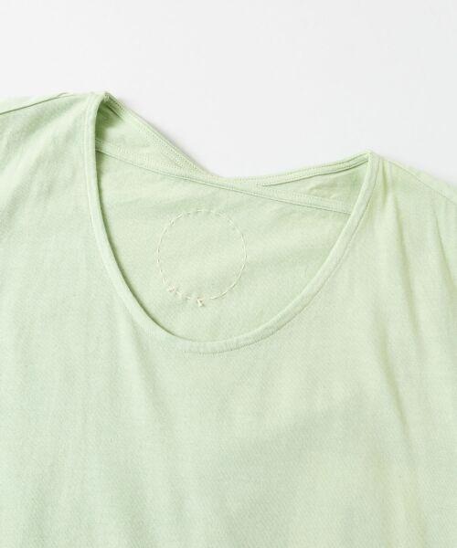 URBAN RESEARCH DOORS / アーバンリサーチ ドアーズ ワンピース | COSMIC WONDER 有機栽培綿の大きなTドレス | 詳細1