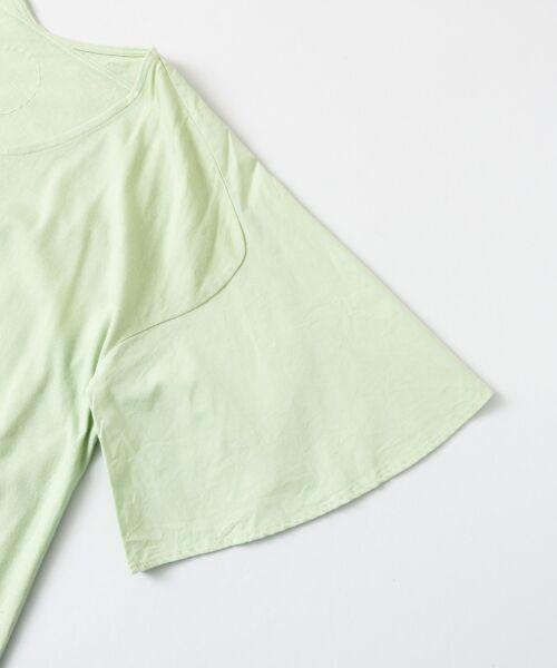 URBAN RESEARCH DOORS / アーバンリサーチ ドアーズ ワンピース | COSMIC WONDER 有機栽培綿の大きなTドレス | 詳細2
