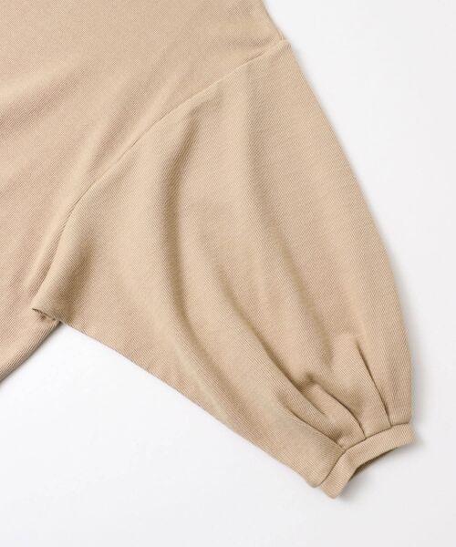 URBAN RESEARCH DOORS / アーバンリサーチ ドアーズ Tシャツ | タックワイドスリーブカットソー | 詳細14