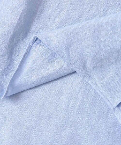 URBAN RESEARCH DOORS / アーバンリサーチ ドアーズ シャツ・ブラウス   リネン抜け衿ブラウス   詳細25