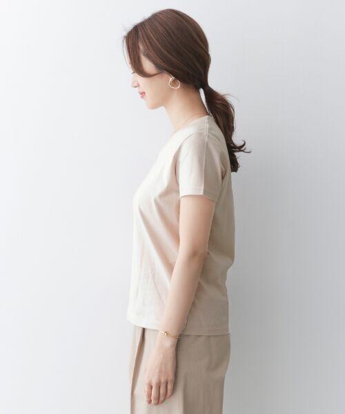 URBAN RESEARCH DOORS / アーバンリサーチ ドアーズ Tシャツ | スペインコットンVネックTシャツ | 詳細10